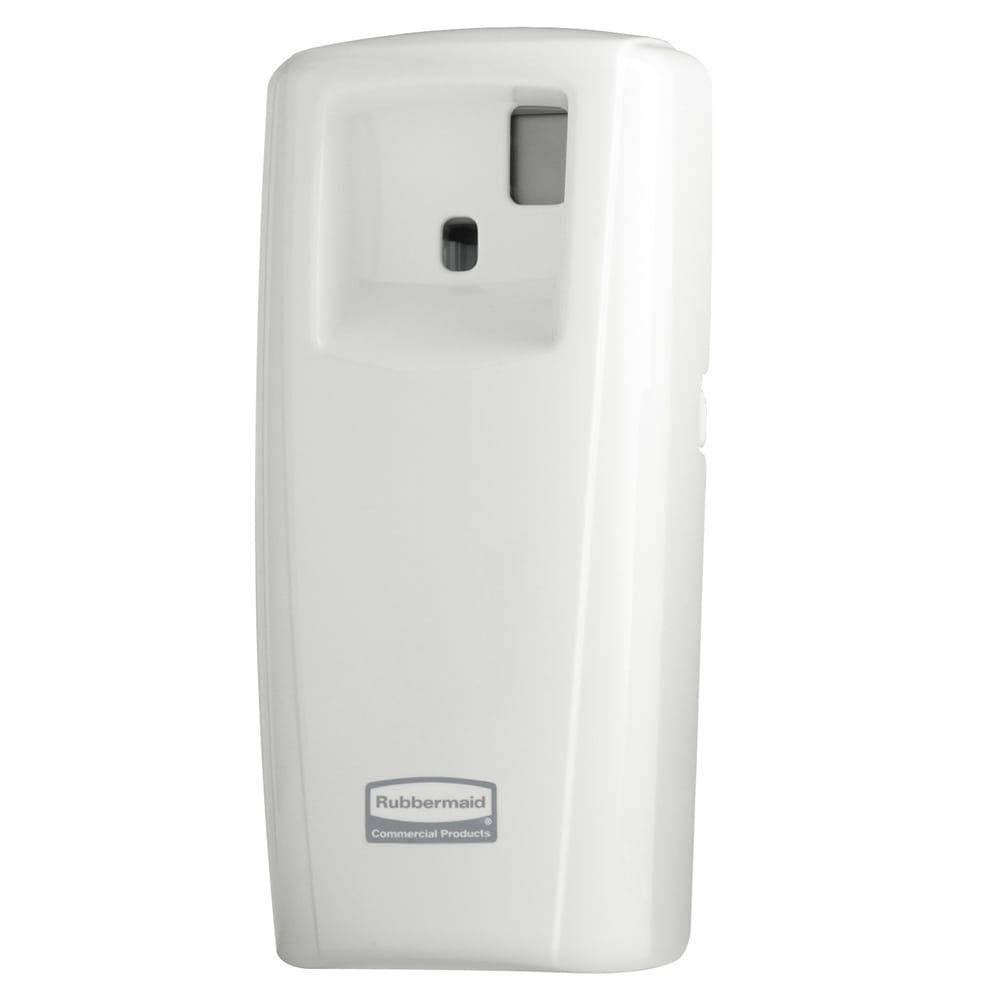 Rubbermaid 1793535 LCD Aerosol Dispenser, White