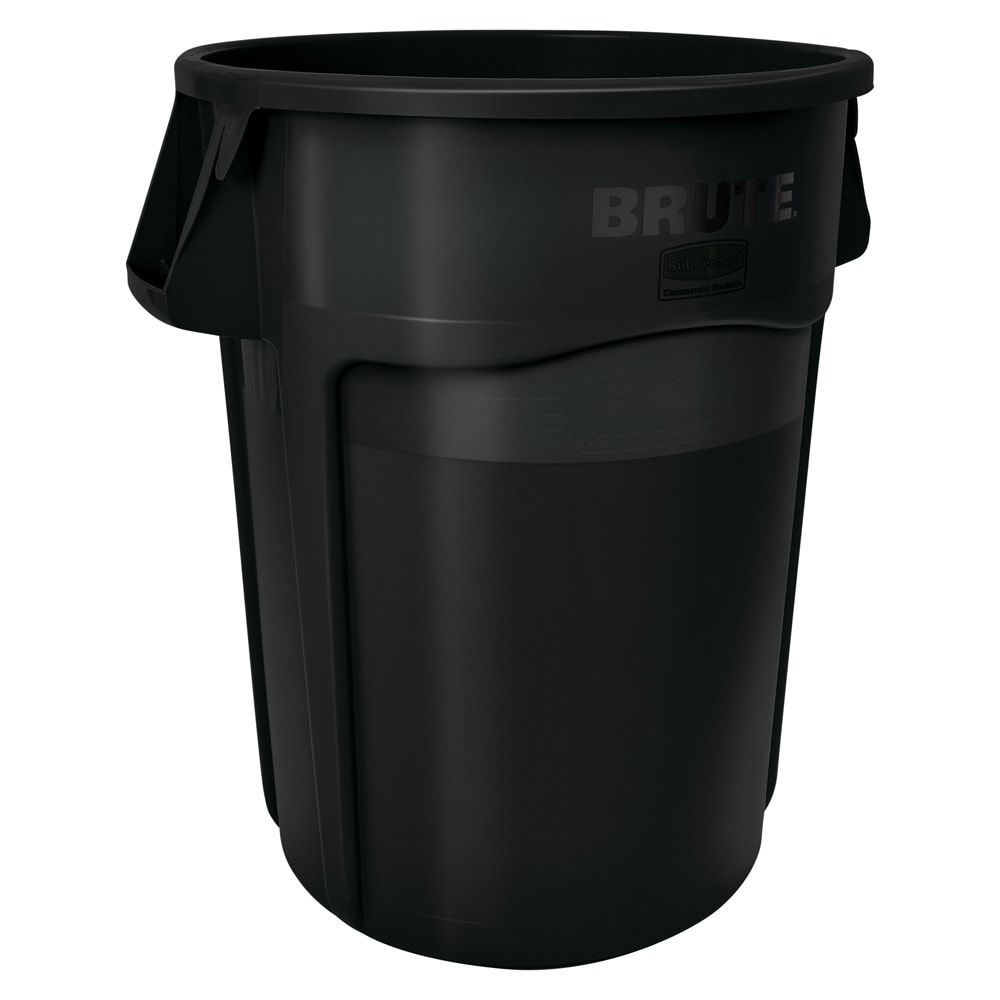 Rubbermaid 1867531 32-gallon Brute Trash Can - Plastic, R...