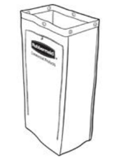 Rubbermaid 1878366 25-gal Vinyl Bag for Executive Janitor...