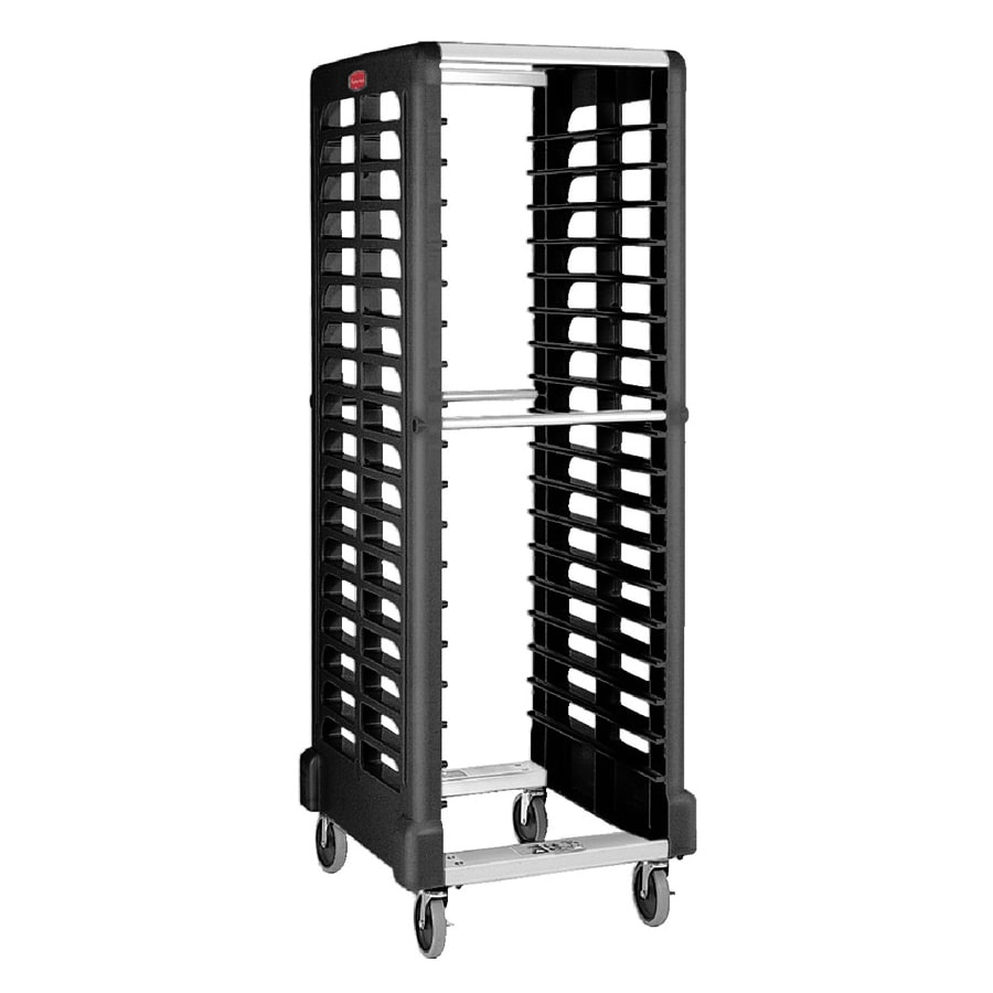 Rubbermaid FG332000BLA 23.75W 18 Sheet Pan Rack w/ 2 Bott...