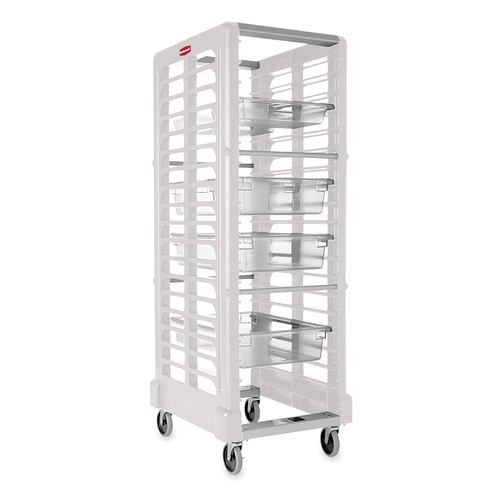 Rubbermaid FG332000OWHT 23.75W 18 Sheet Pan Rack w/ 2 Bot...
