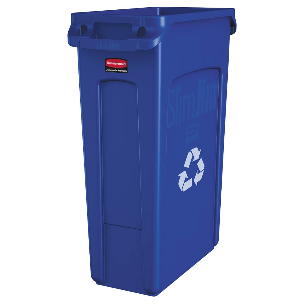 Rubbermaid FG354007BLUE 23-gal Multiple Material Recycle ...