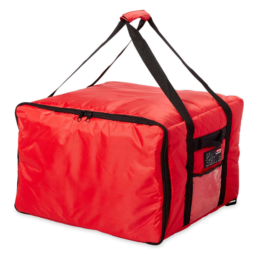 Rubbermaid Fg9f3900red Proserve Pizza Catering Bag 19 3
