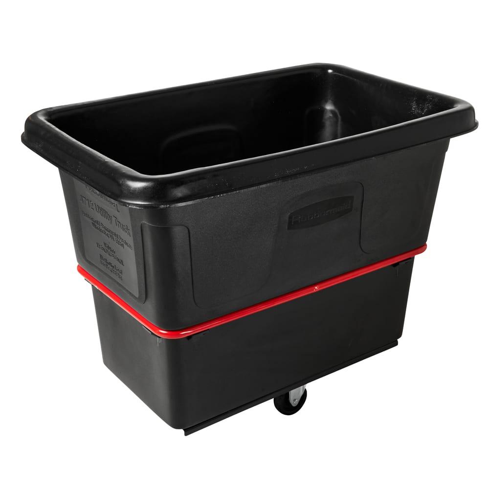 Rubbermaid FG471200 BLA .4 cu yd Trash Cart w/ 800 lb Capacity, Black