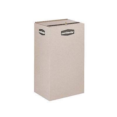 Rubbermaid FGNC30P10 28.5-gal Paper Recycle Bin - Indoor,...