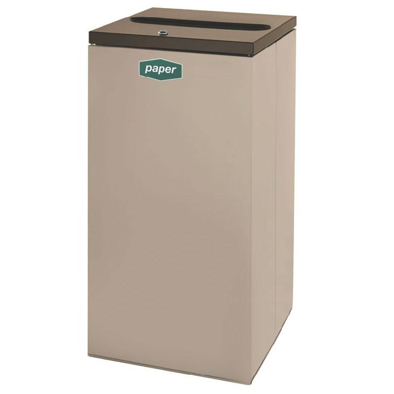 Rubbermaid FGNC30P5L 28.5-gal Paper Recycle Bin - Indoor,...