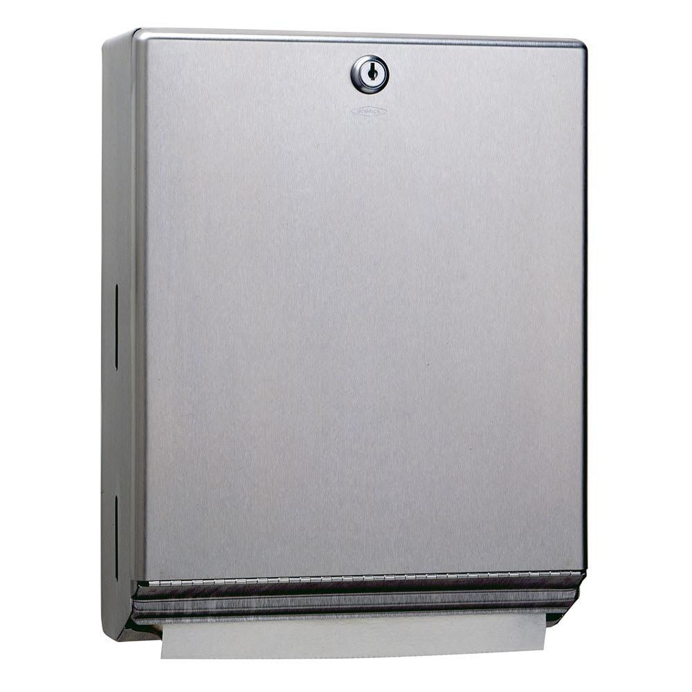 Bobrick B-262 Surface-Mounted Paper Towel Dispenser w/ 400