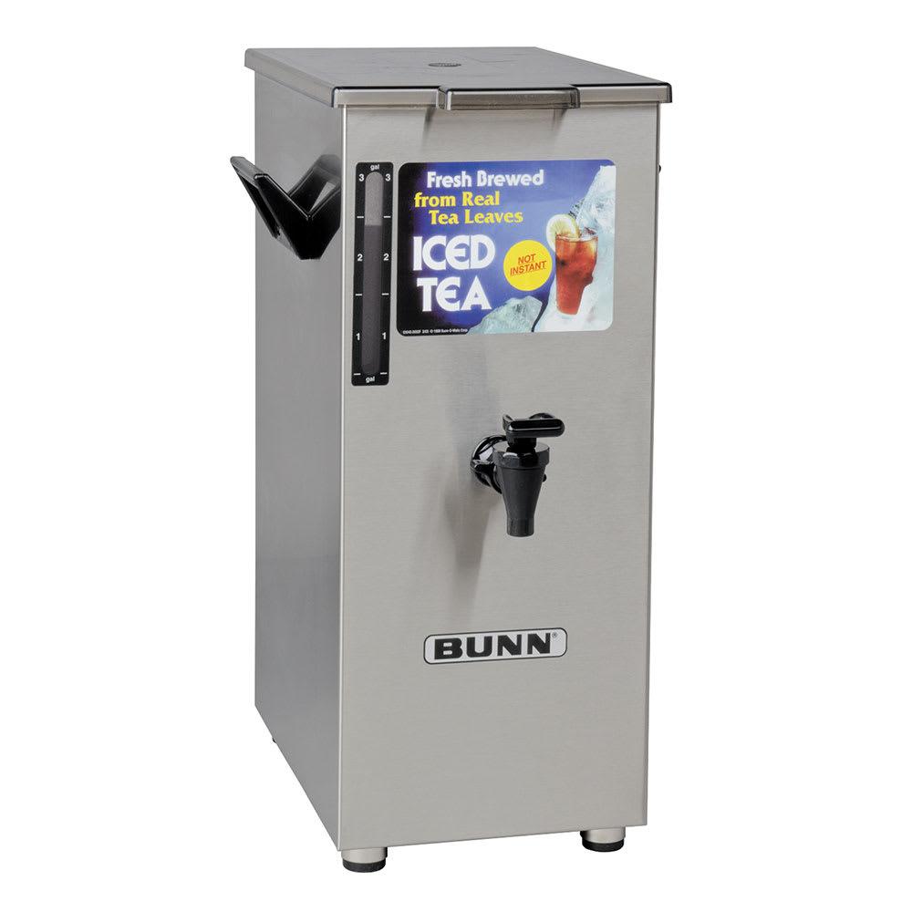 Bunn Td4t 4 Gal Square Tall Iced Tea Or Coffee Dispenser W