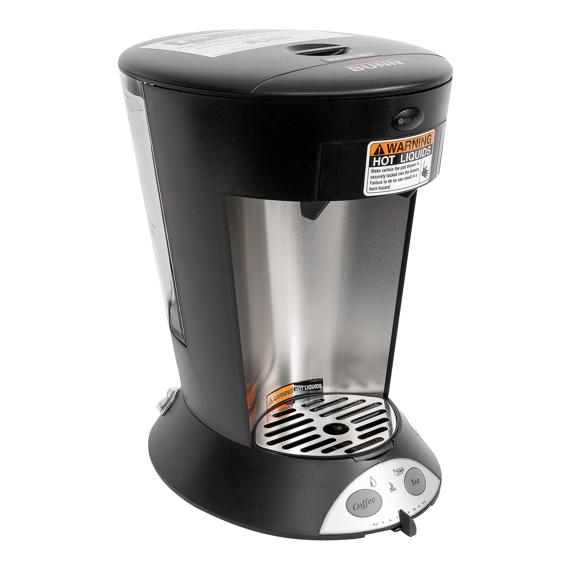 BUNN MCP-0003 MCP My Cafe Pod Brewer, Pourover, 1 Cup, Co...