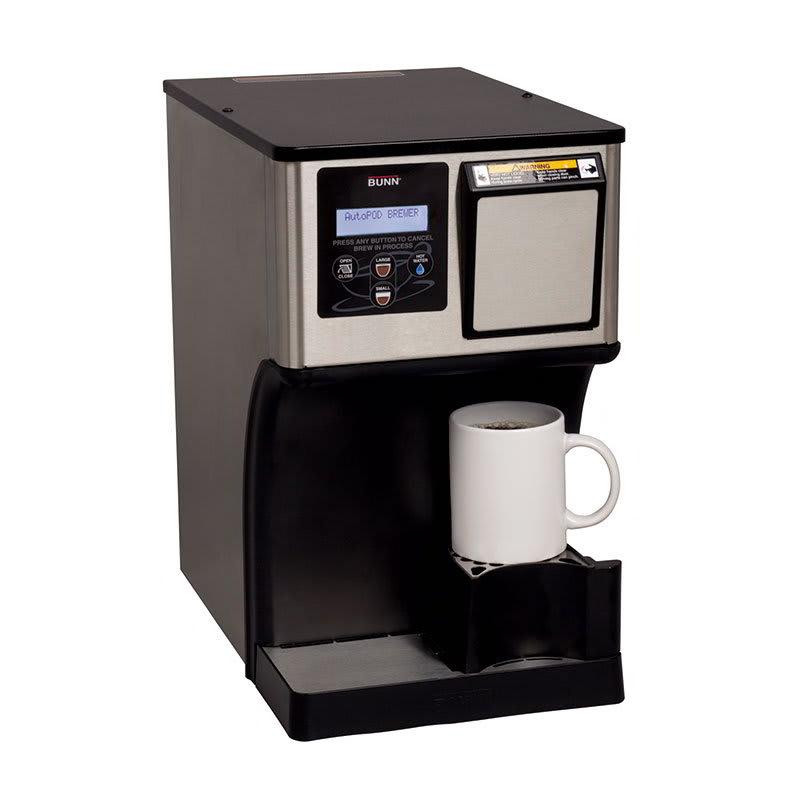 BUNN MCAP-0000 Automatic Pod Brewer w/ Removable Bin, Bre...