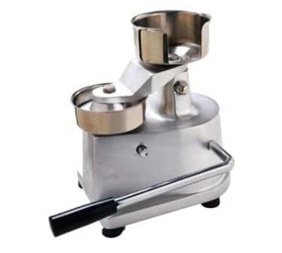 Eurodib HF-100 Hamburger Press w/ Stainless 4 Mold & Buil...