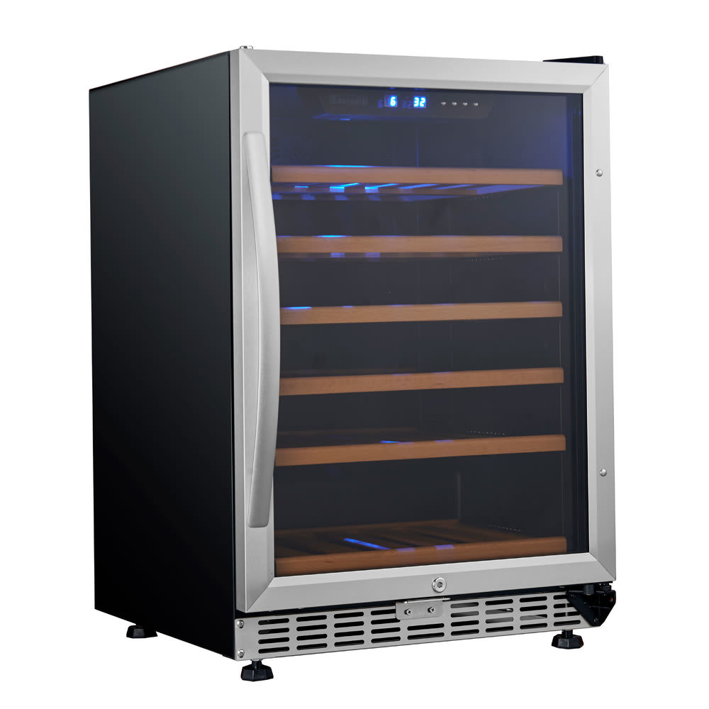 Eurodib USF54S 23.4 One-Section Wine Cooler w/ (1) Zone -...