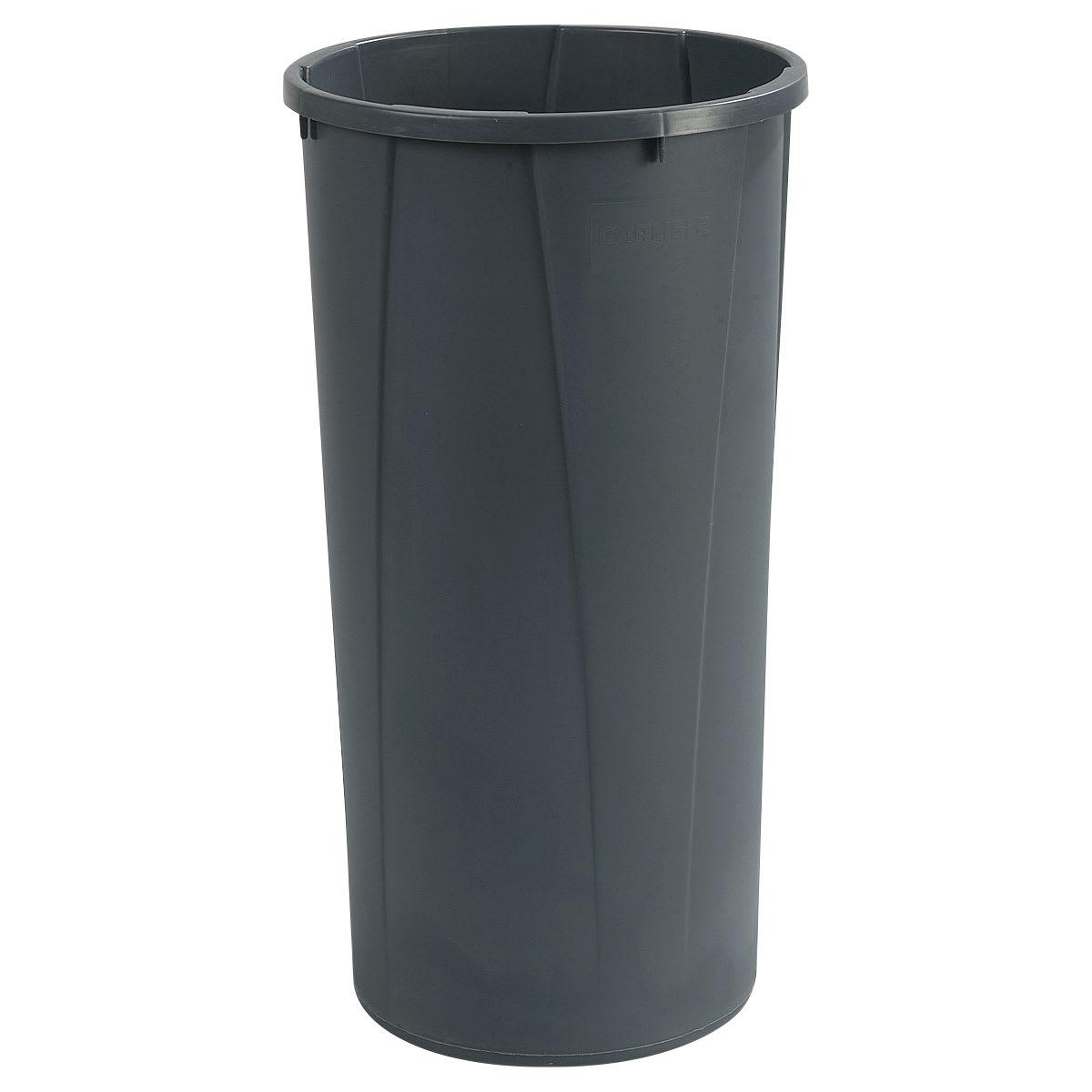 Carlisle 34312223 22 Gallon Commercial Trash Can Plastic