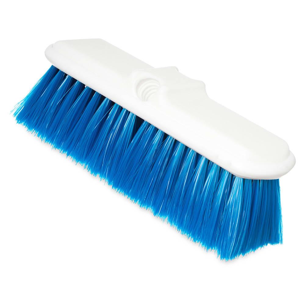 Carlisle 4005014 9-1/2 Wall Brush - Nylex/Plastic, Blue