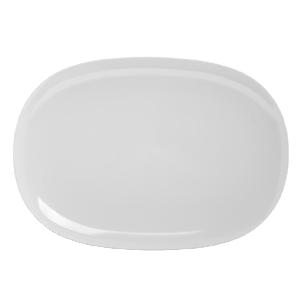 Carlisle 4384202 Oblong Platter - 14 x 10 Melamine White  sc 1 st  Nextag & White oblong dinner plates | Compare Prices at Nextag