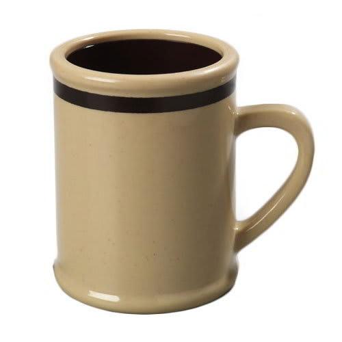 Carlisle 8 BrownKatom 850519 Rustic Stonedark Oz Mug Coffee b76fgvYy