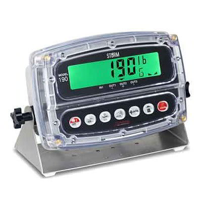 Detecto Scales 190 Digital Weight Indicator w/ 1 LCD Disp...