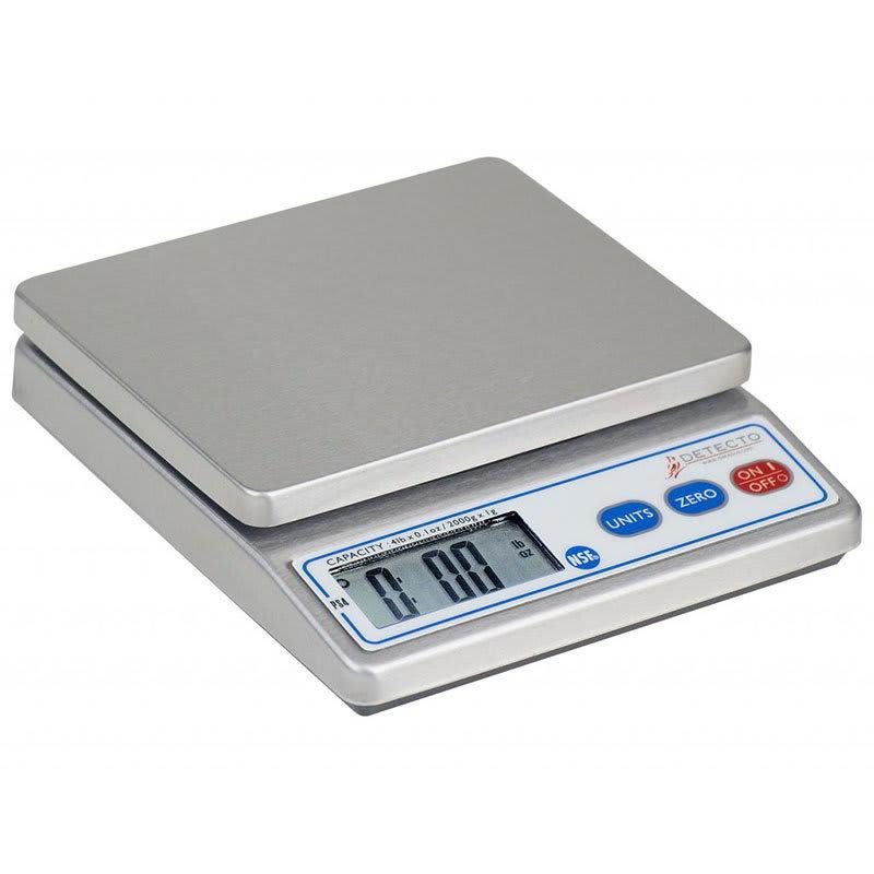 Detecto Scales PS-4 Top Loading Counter Model Scale w/ Di...