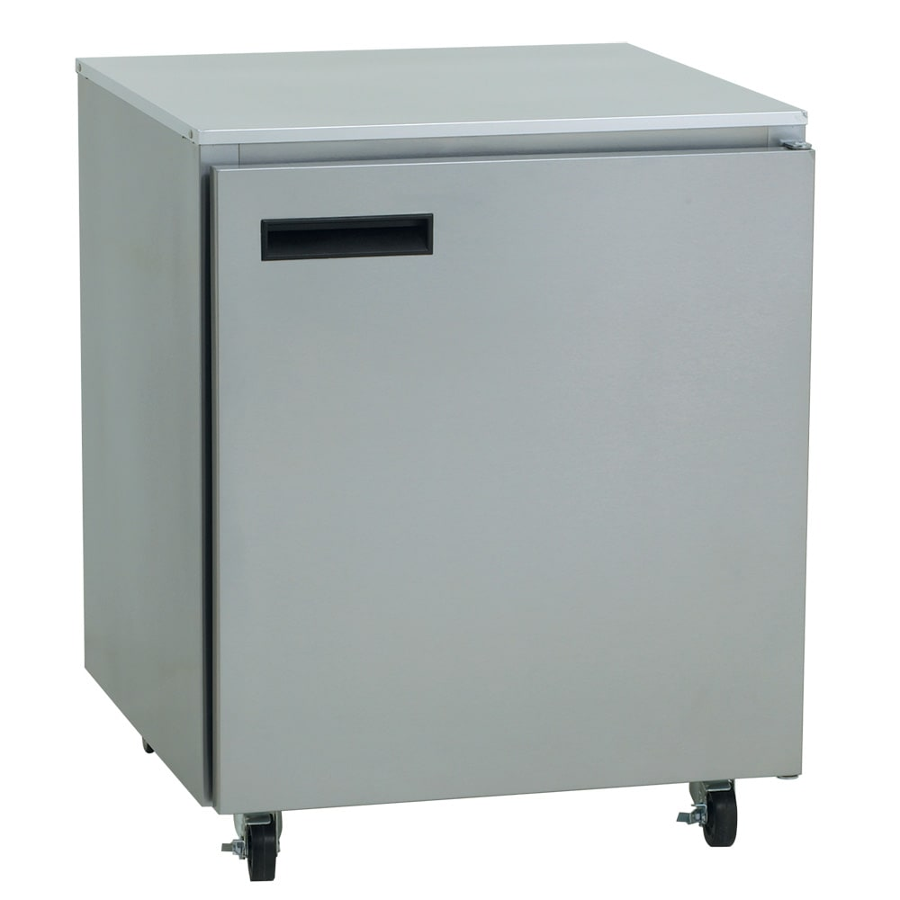 Delfield 407 Cap 5 7 Cu Ft Undercounter Freezer W 1
