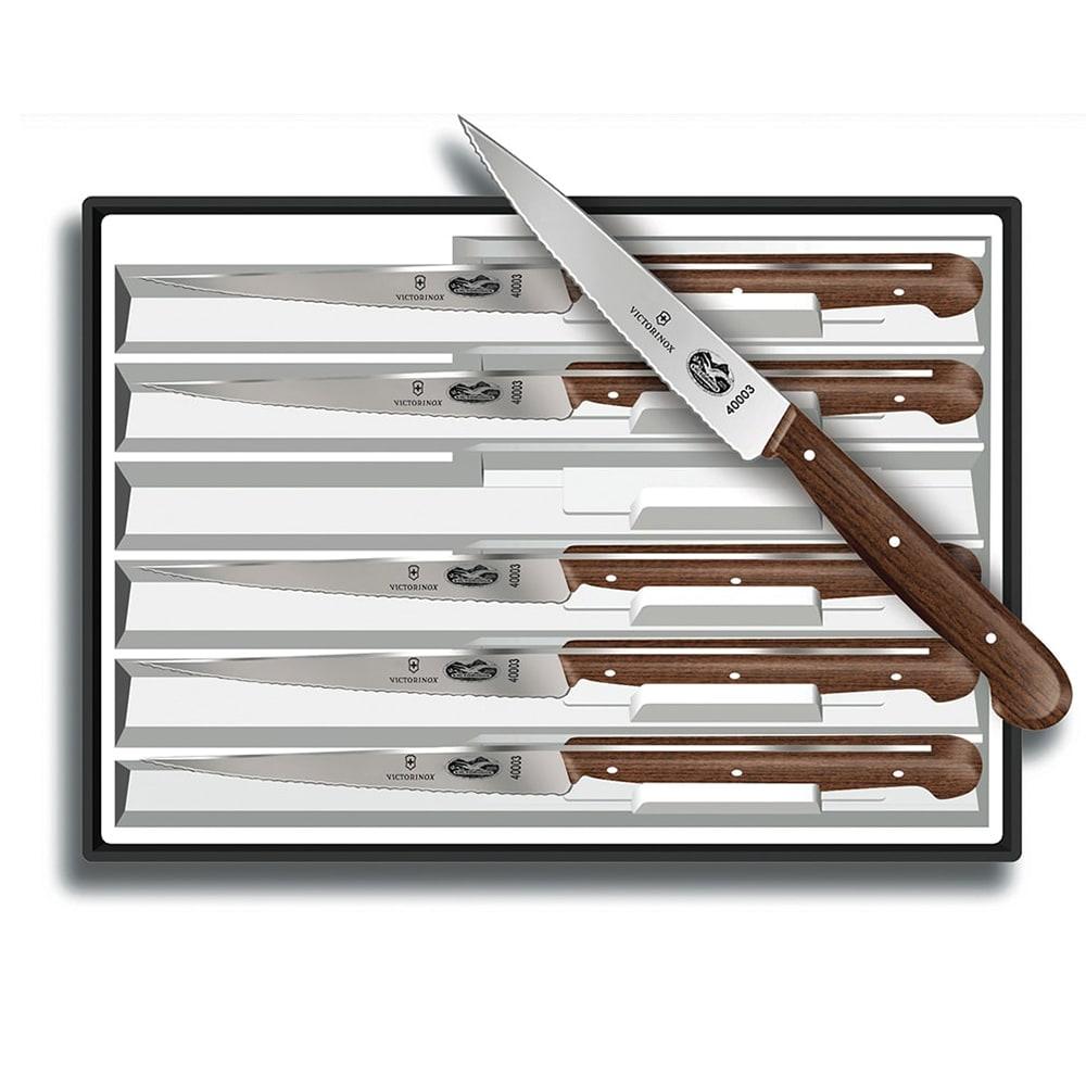 Victorinox Swiss Army 46059 6 Piece Steak Knife Set W