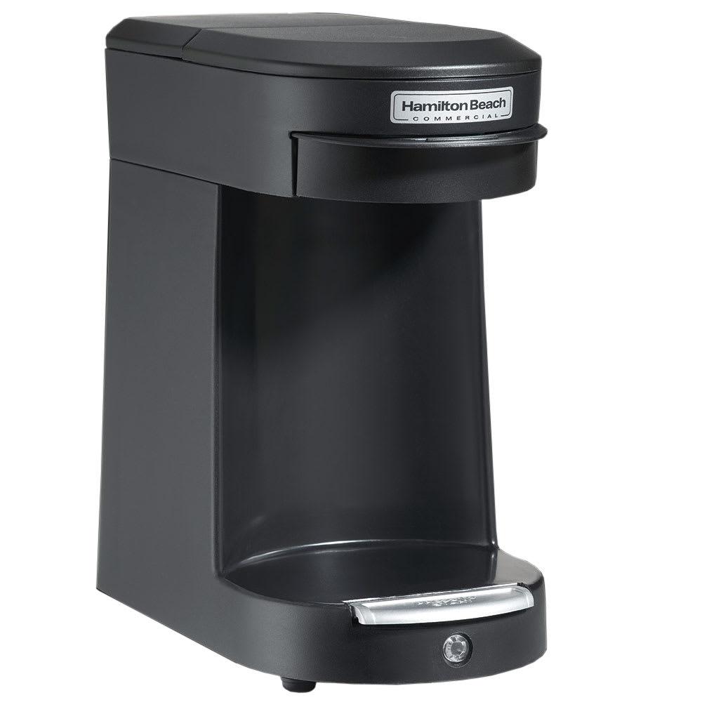 Hamilton Beach HDC200B 1-Cup Pod Coffee Maker w/ Auto Shu...