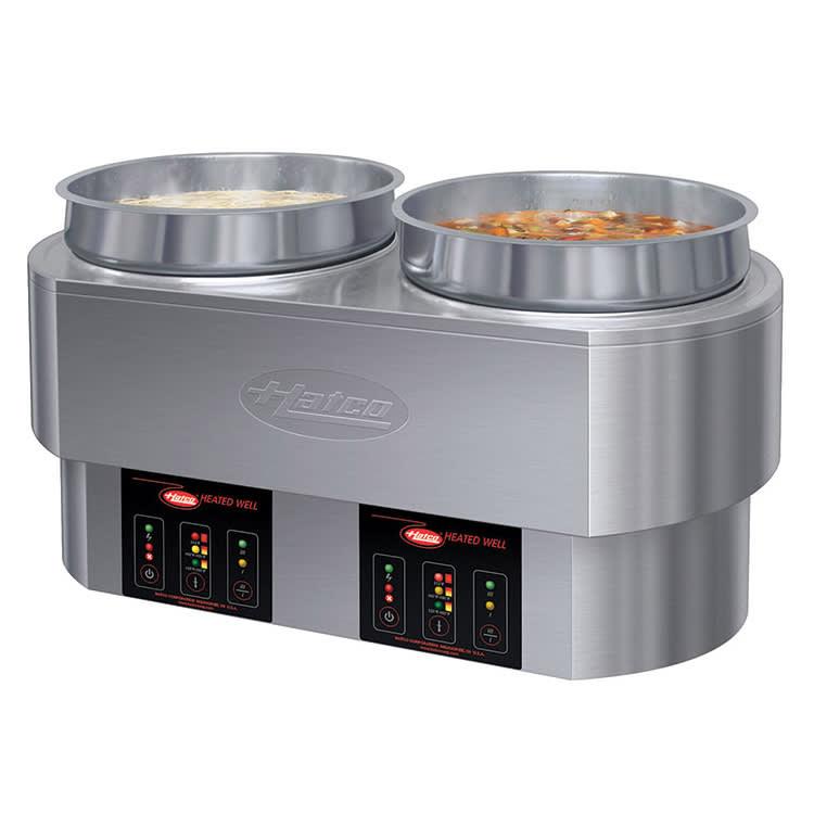 Restaurant Soup Warmer ~ Hatco rhw qt double countertop food warmer cooker
