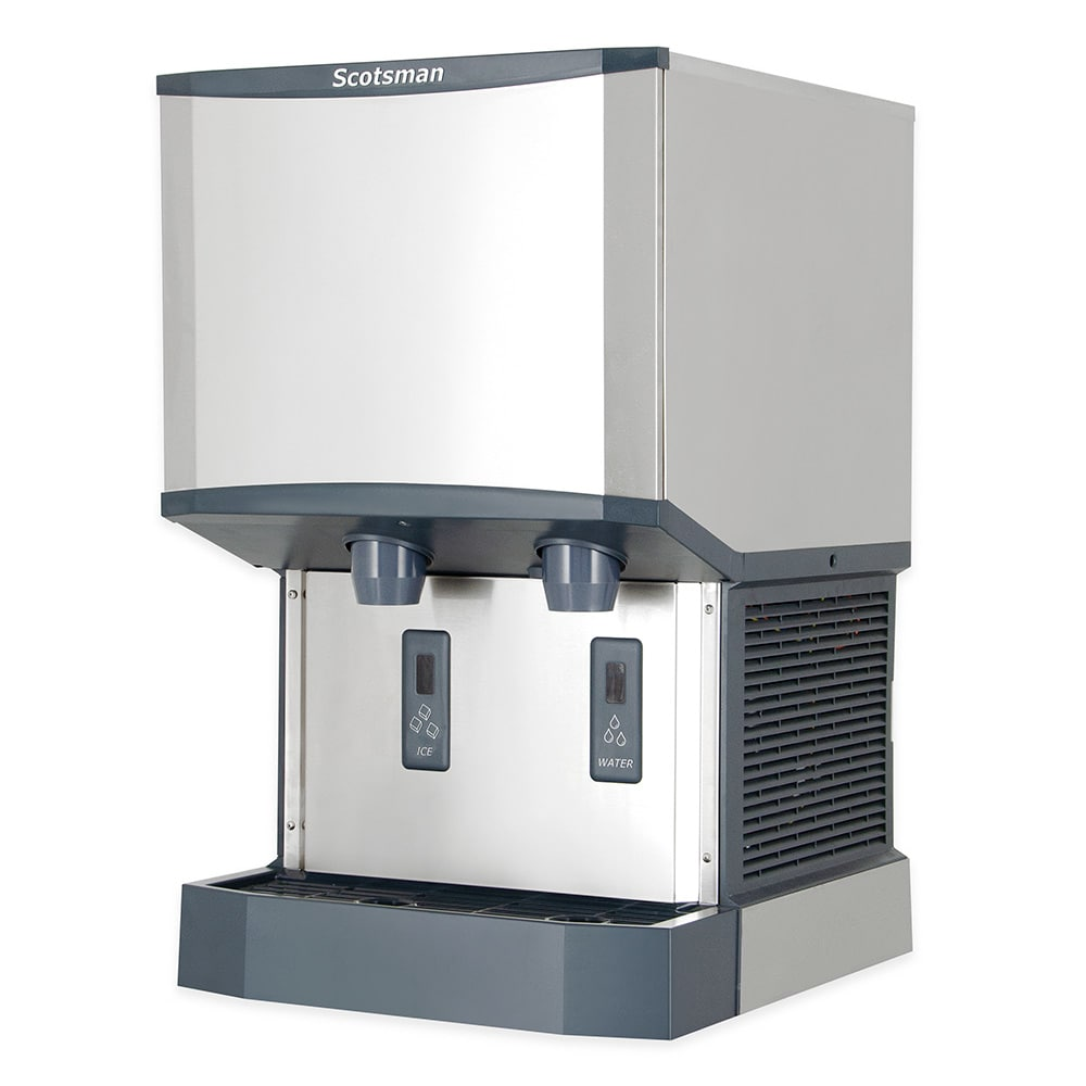 Scotsman Hid525w 1 500 Lb Countertop Nugget Ice Amp Water