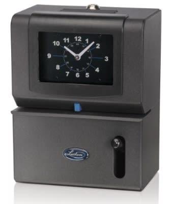 Lathem Time 2126 Time Clock, Manual, 24/100, Military Time