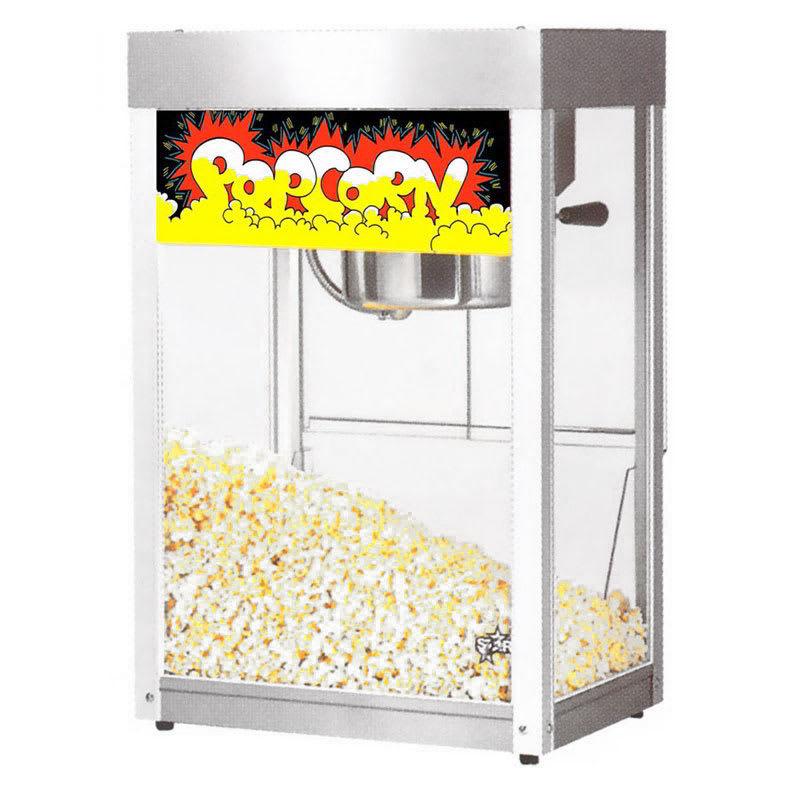Star 39SA Popcorn Popper, 6 oz Kettle, (135) 1oz Servings...