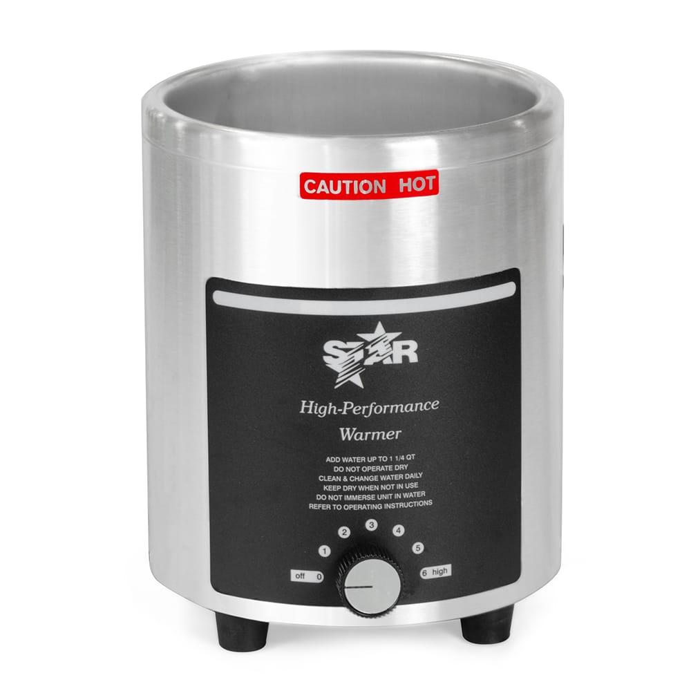 Star 4RW 4-qt Countertop Soup Warmer w/ Thermostatic Cont...
