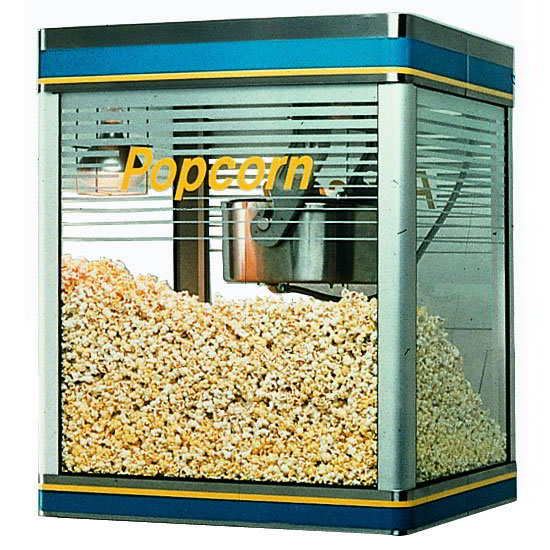 Star G12-Y 12-oz Popcorn Machine, (240) 1-oz Servings, 120V