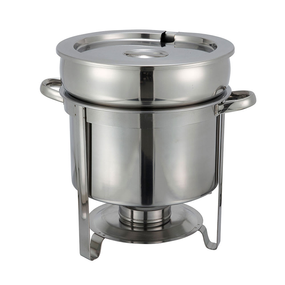 Restaurant Soup Warmer ~ Winco qt soup warmer stainless
