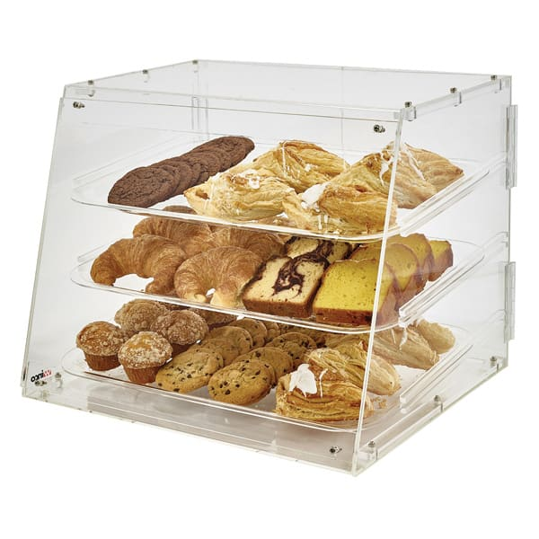 Winco ADC-3 Counter Top Display Case w/ (3) 12 x 18 Trays...
