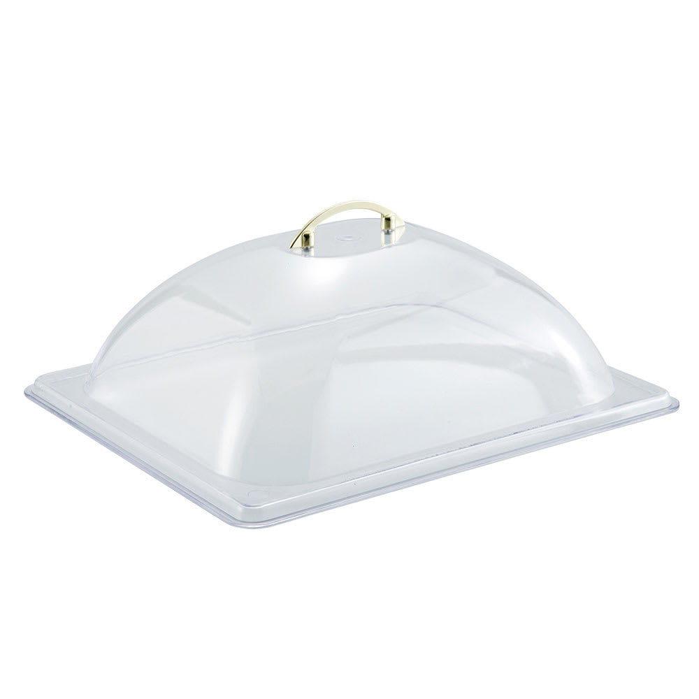 winco c dp2 half size dome cover polycarbonate. Black Bedroom Furniture Sets. Home Design Ideas
