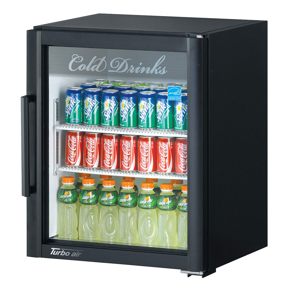 Turbo Air TGM-5SD 25 Countertop Refrigerator w/ Front Acc...