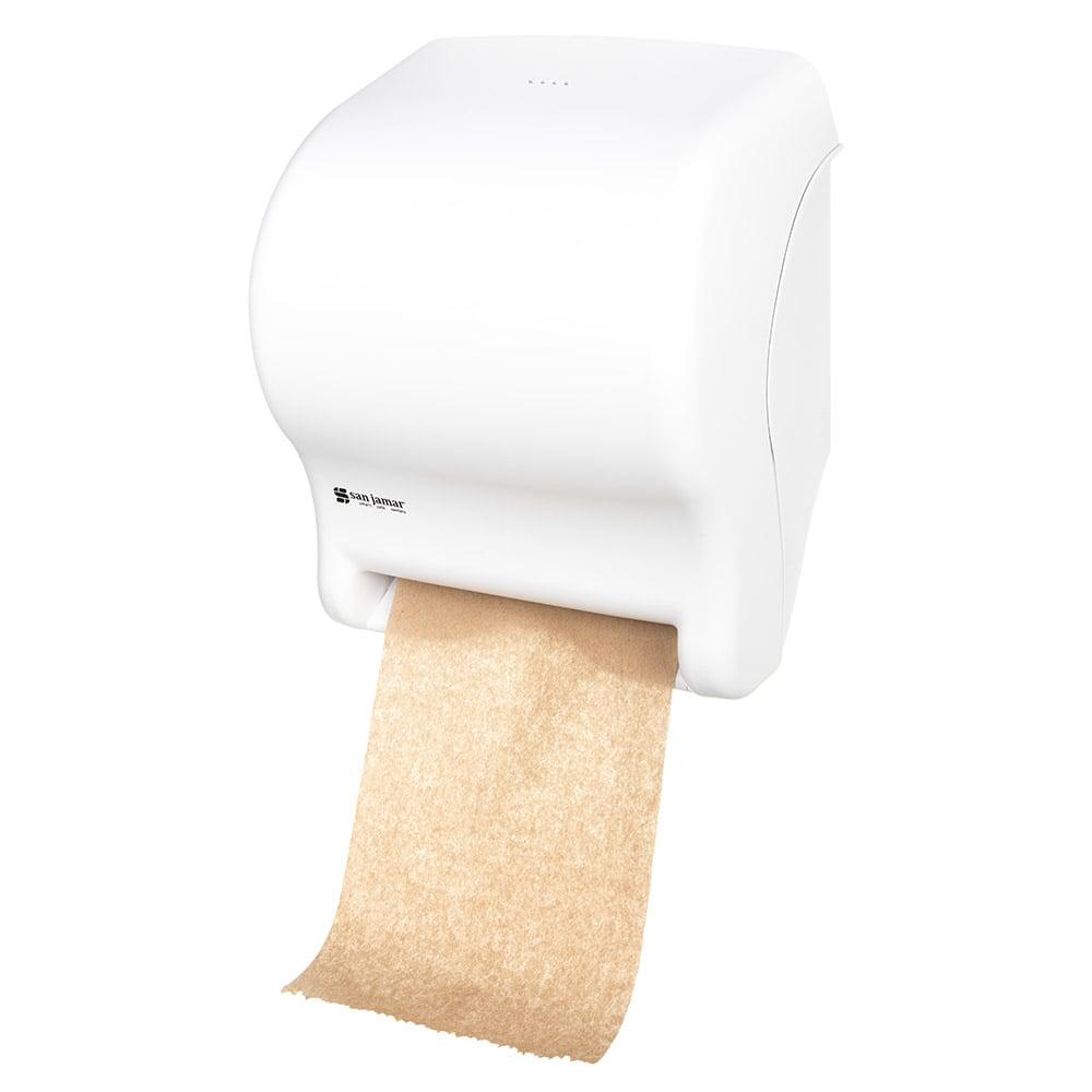 San Jamar T8000WH Tear-N-Dry Essence Wall Towel Dispenser...