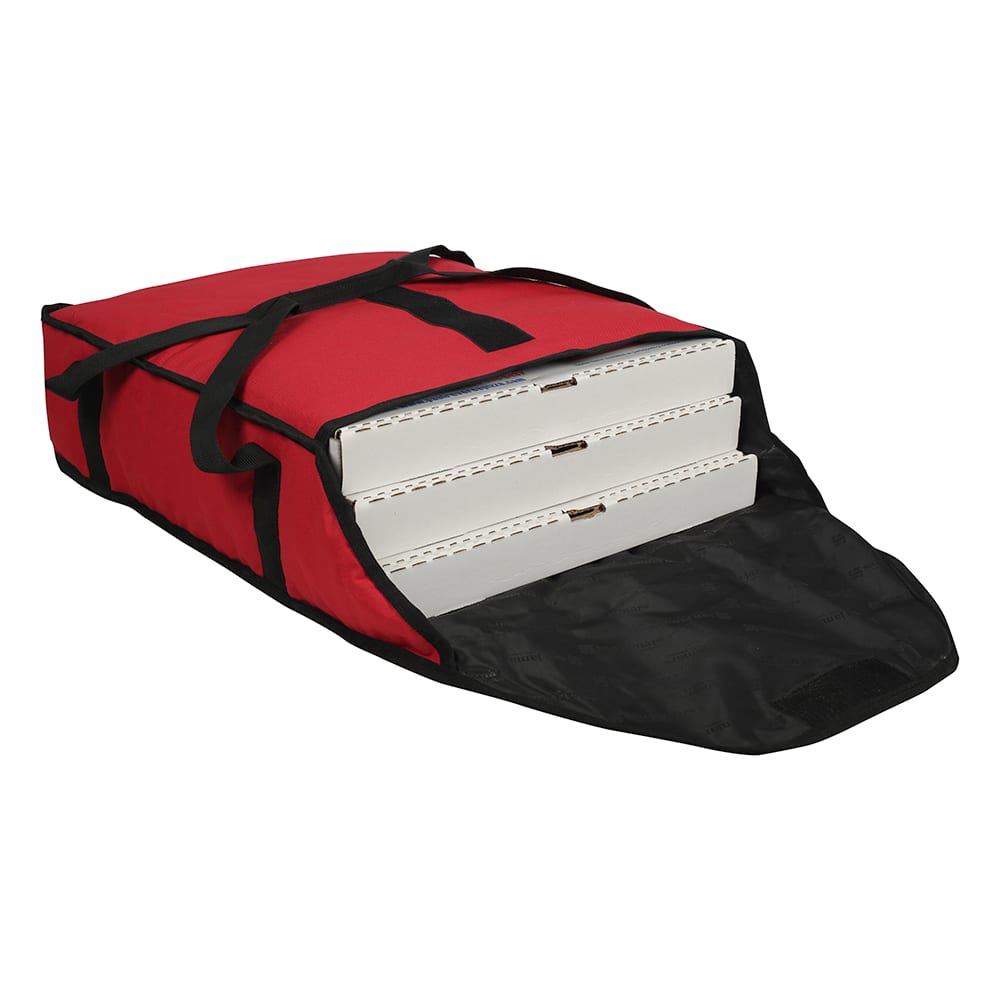 San Jamar PB20-6 Pizza Bag, 20 x 18 x 6, Holds 3 Pizza Bo...