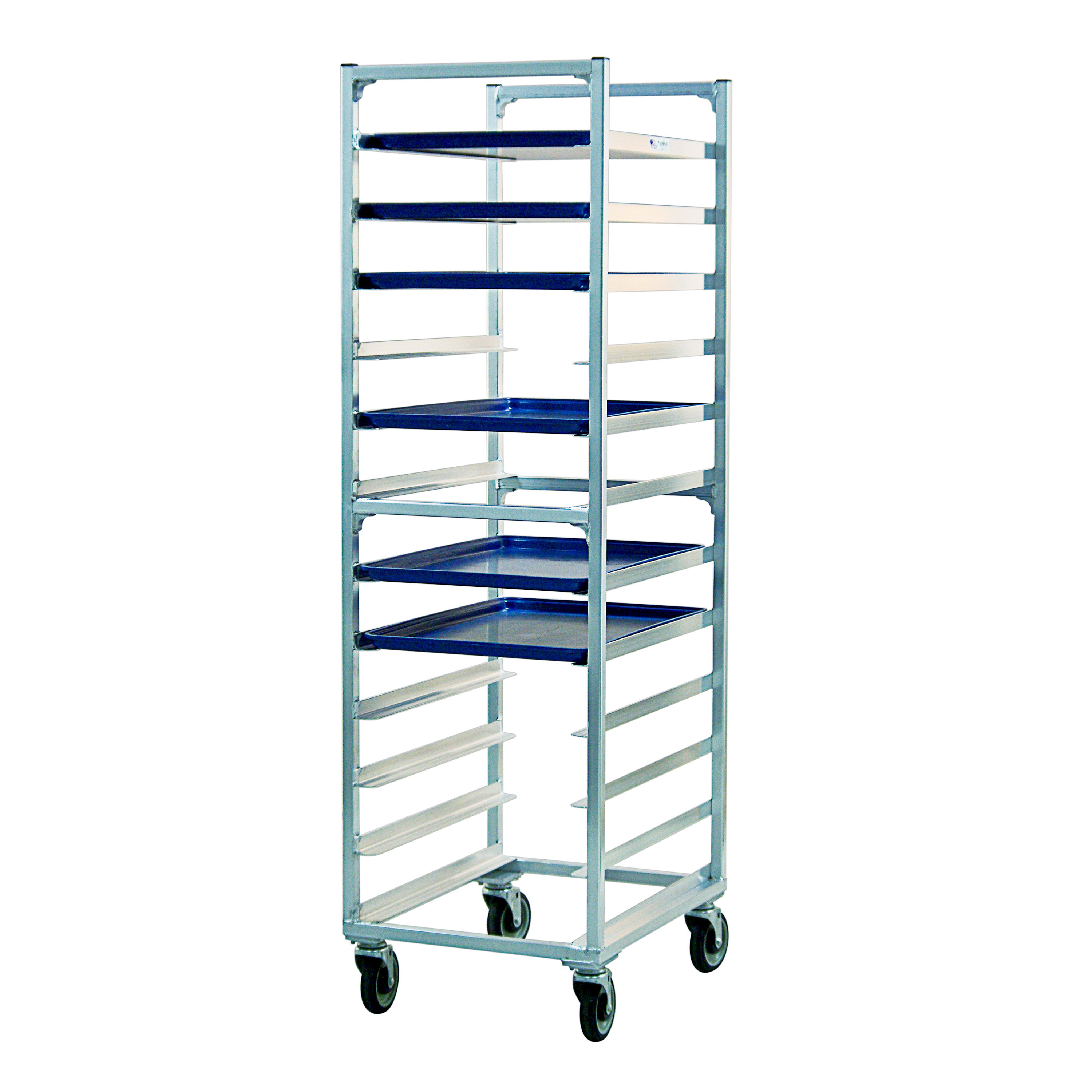 New Age 1333 Full Bun Pan Rack, End Load, 12 Capacity