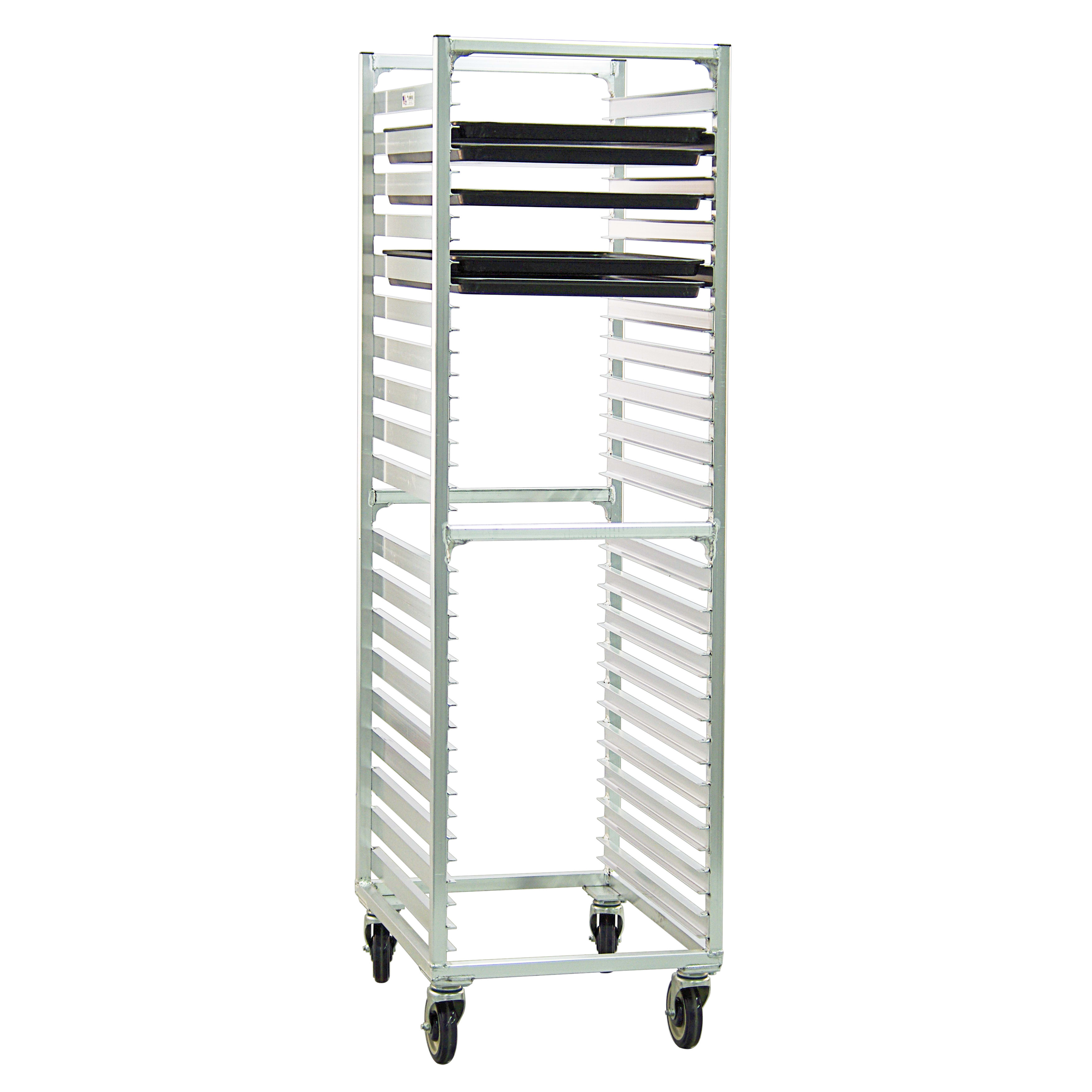 New Age 1461 20.69W 38 Bun Pan Rack w/ 1.5 Bottom Load Sl...