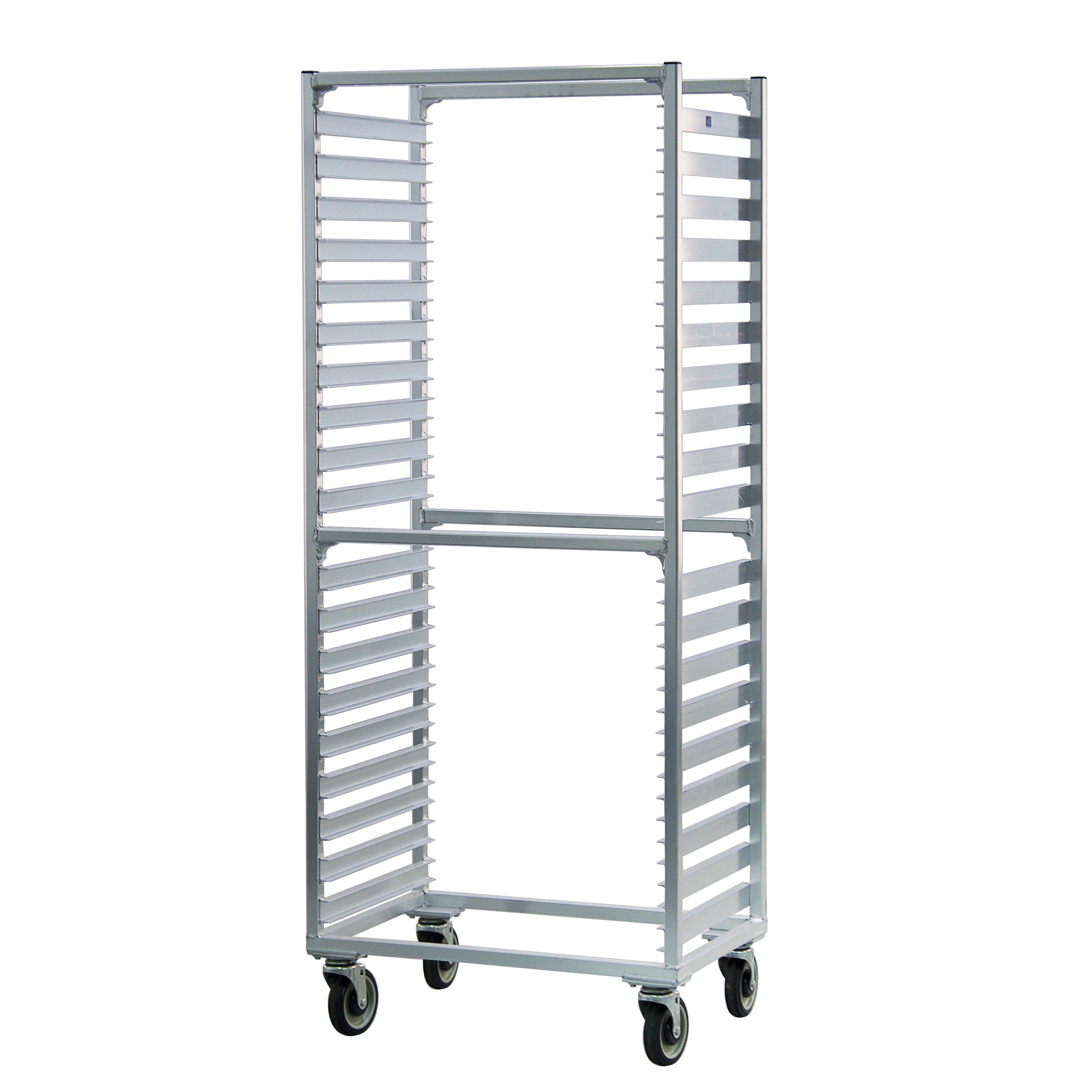 New Age 1461S 28.38W 38-Bun Pan Rack w/ 1.5 Bottom Load S...