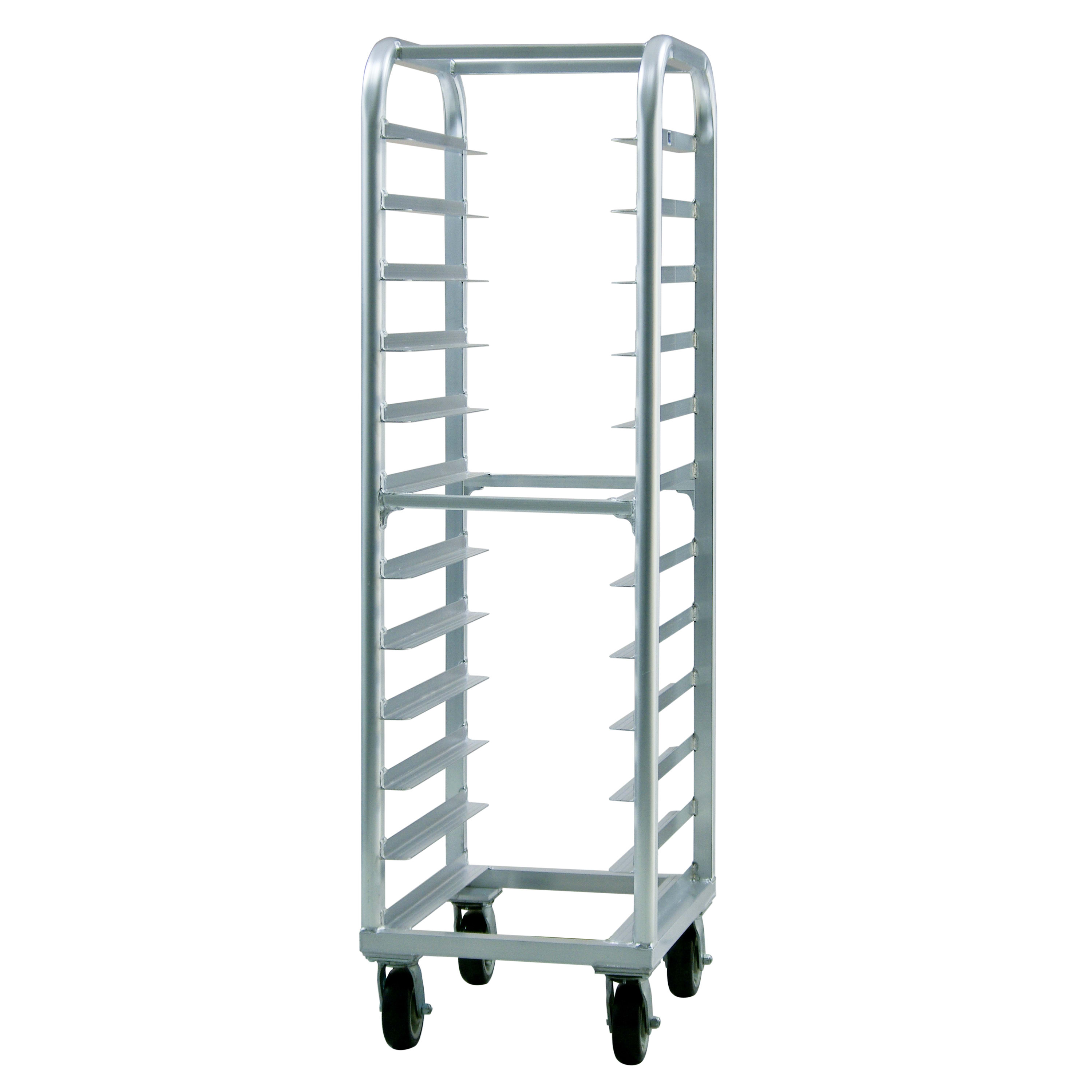 New Age 4333 21.5W 12-Bun Pan Rack w/ 5 Bottom Load Slides