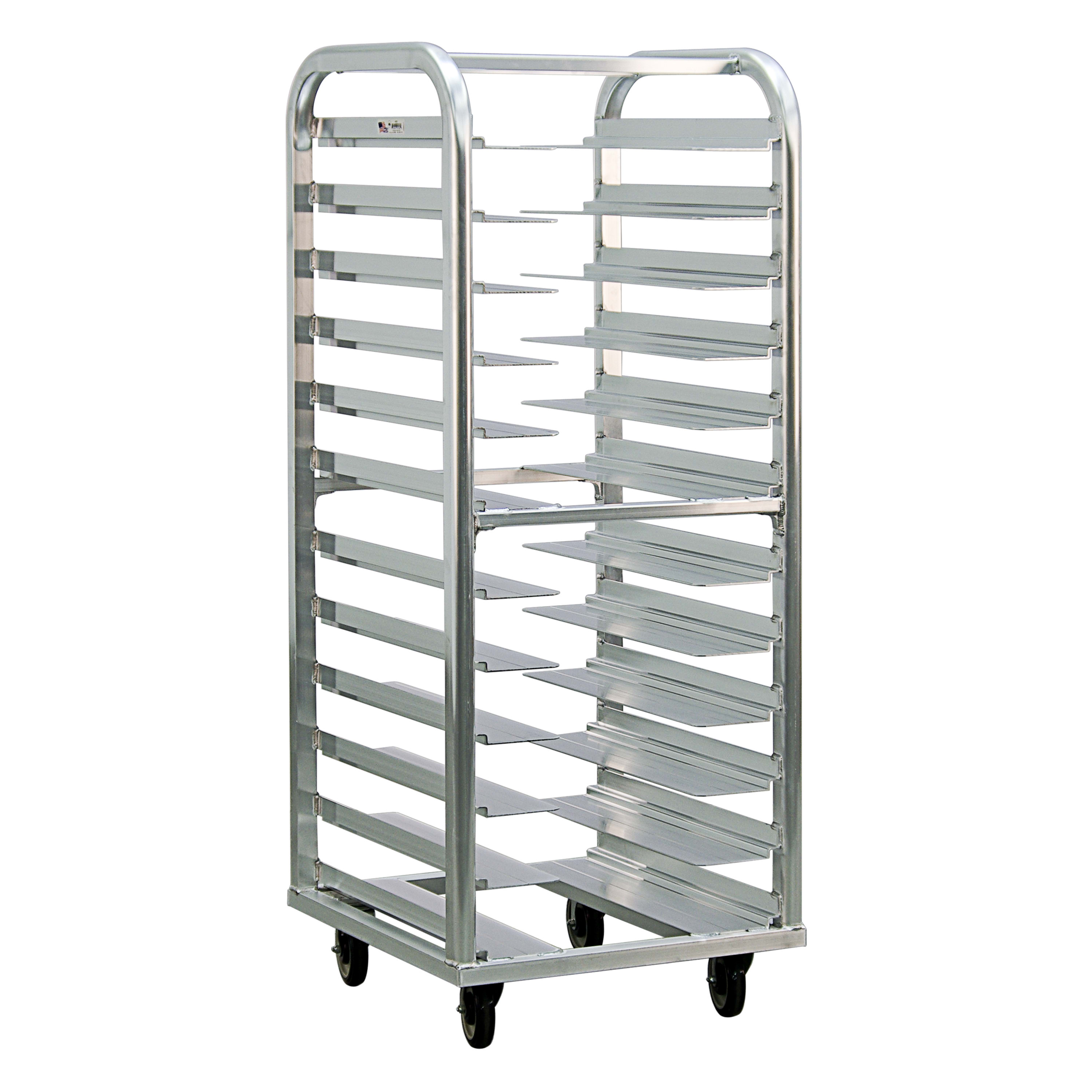 New Age 4635 25W 12-Bun Pan Rack w/ 4.5 Bottom Load Slides