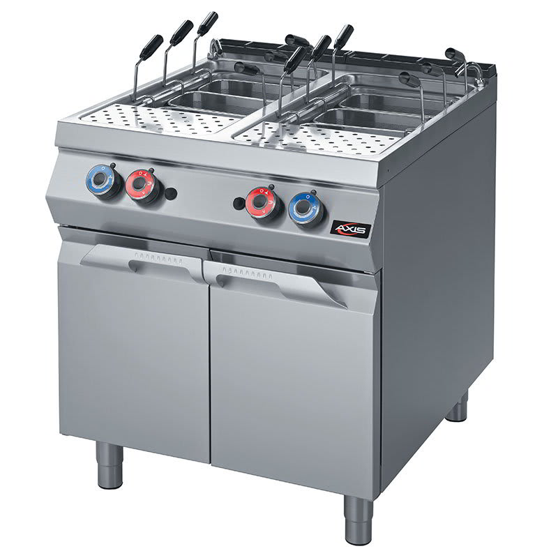 Axis Ax Gpc 2 Gas Pasta Cooker W 2 10 5 Gal Tanks