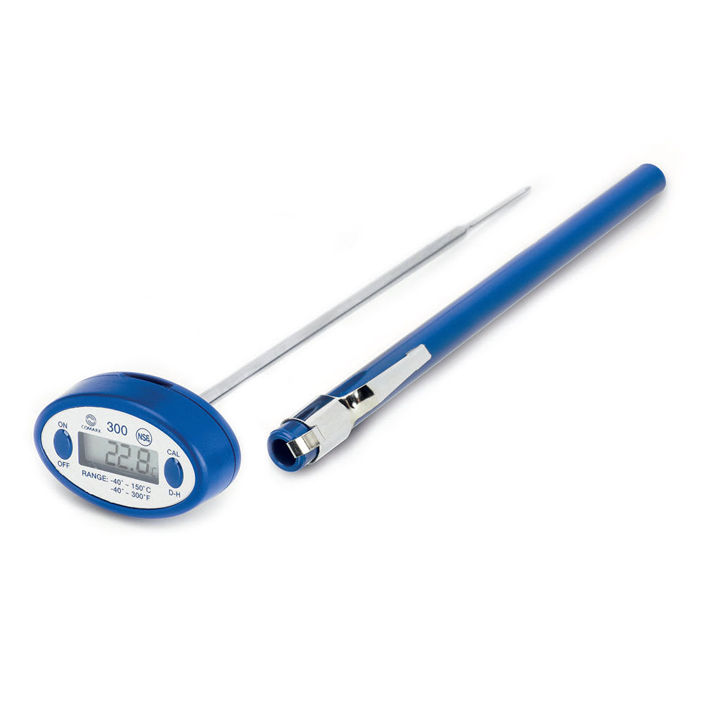 Comark 300 Oval Thin Tip Digital Pocket Thermometer