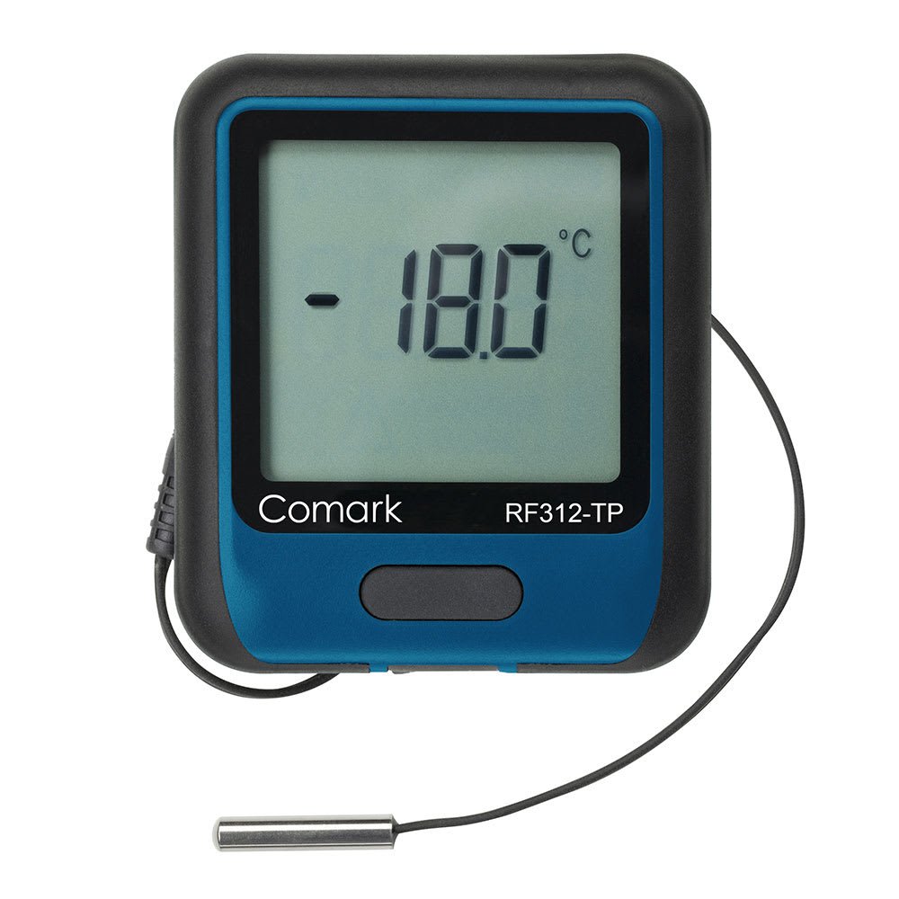 Comark RF312-TP Temperature Data Logger - -40 to 257 F, W...