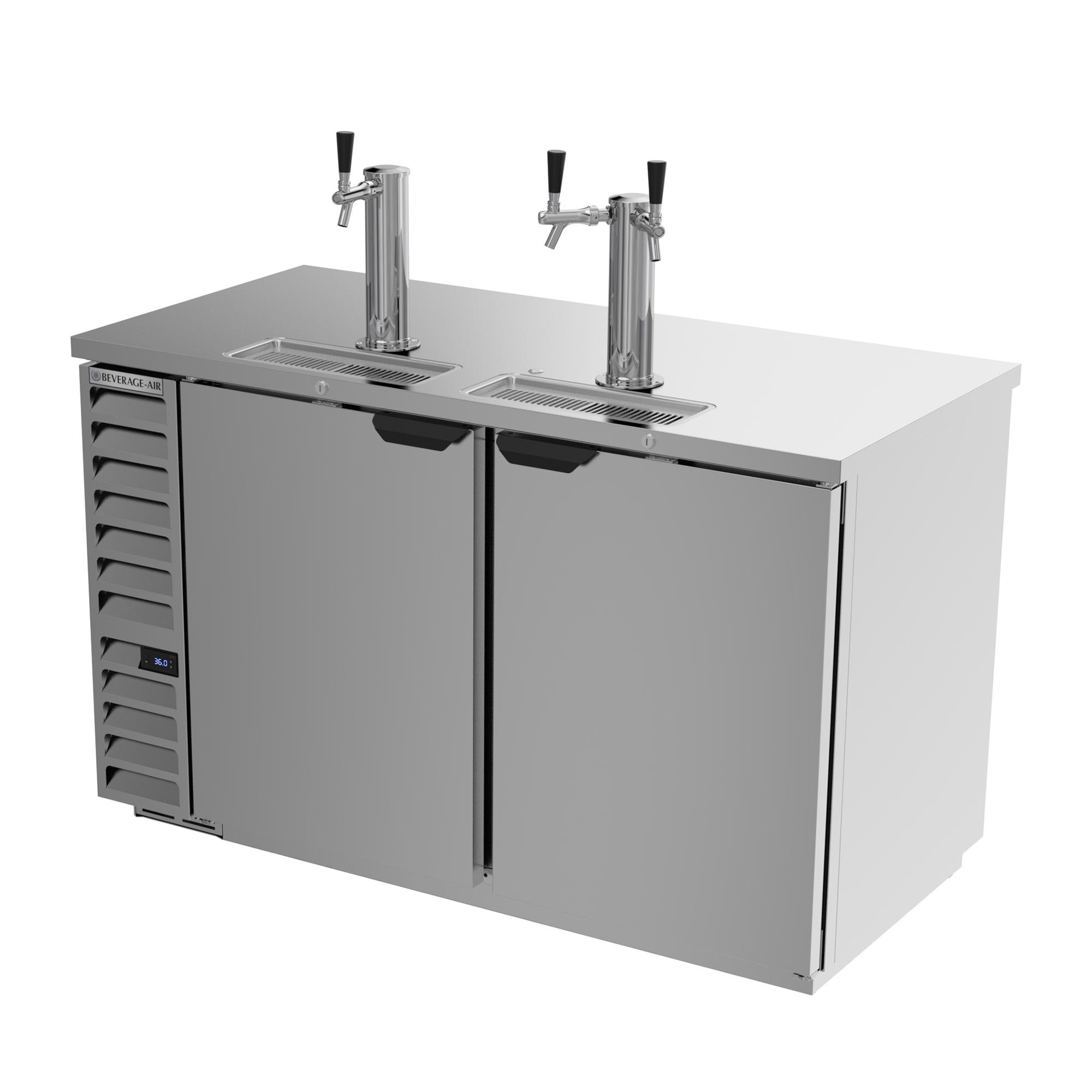 "Beverage Air DD58HC-1-S 59"" Draft Beer System W/ (3) Keg"