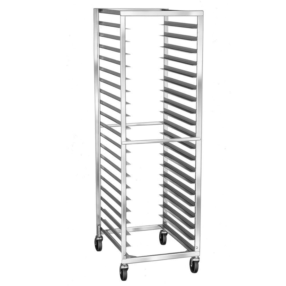 Lakeside 129 21W 41-Sheet Pan Rack w/ 1.4375 Bottom Load Slides
