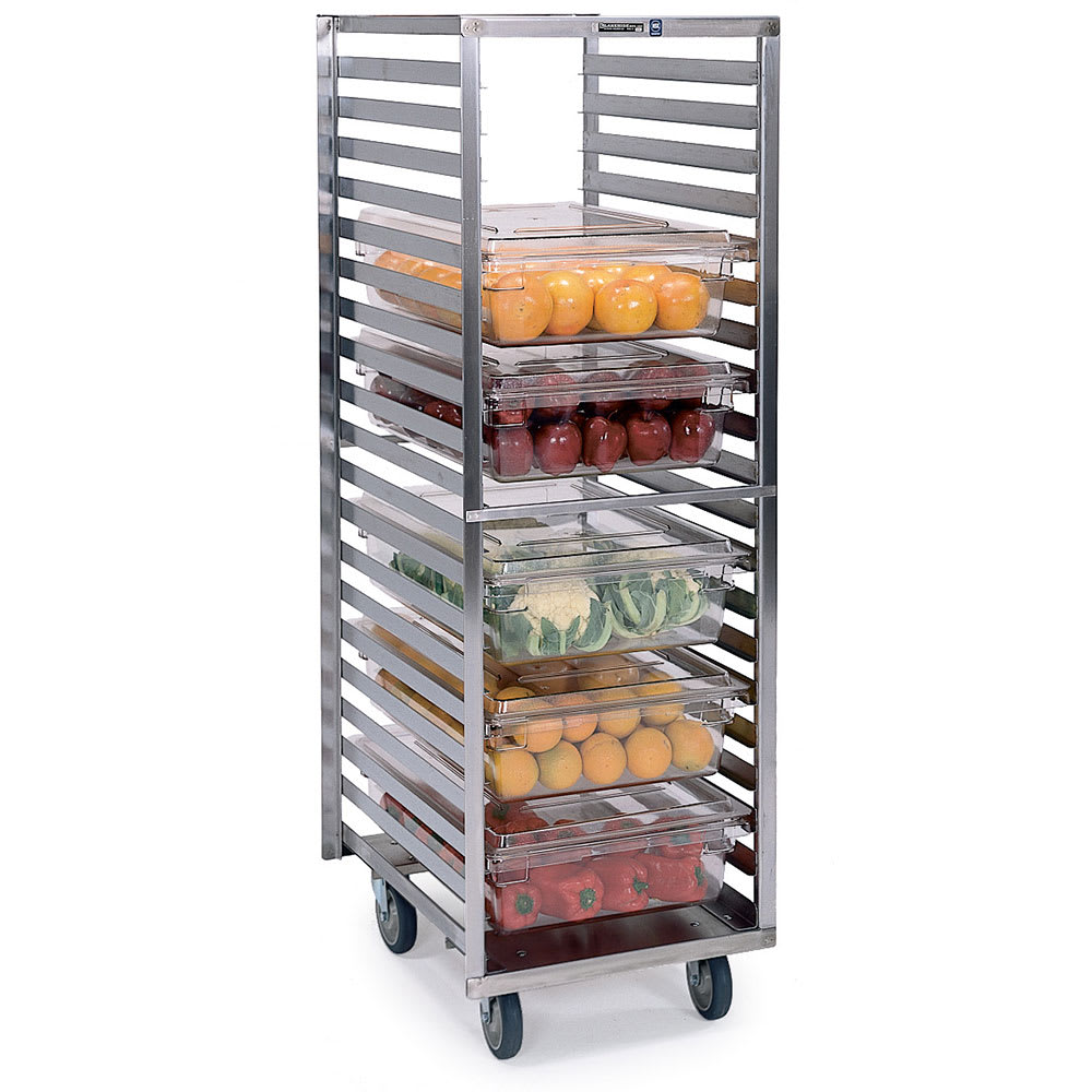 Lakeside 166 20.75W 20-Sheet Pan Rack w/ 2.625 Bottom Load Slides