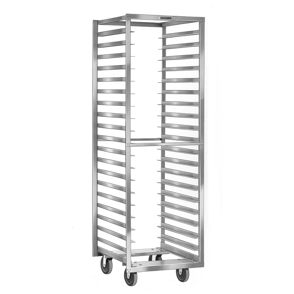 Lakeside 172 18 Pan End Load Stainless Steel Bun / Sheet Pan Rack - Assembled