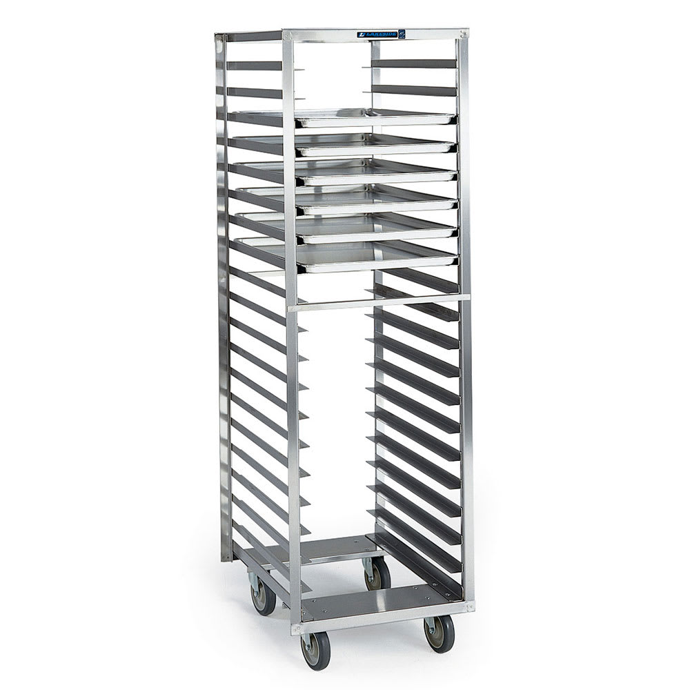 Lakeside Sheet Pan/tray Rack, Narrow Opening, Full Height, Open Sides, Capacity (20) 18&#